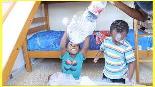 Fun activities for kids I Homemade bubbles with soda bottle I DIY Bubble Machine for kids children