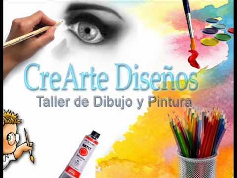 Crearte dise os promocion taller de dibujo y pintura - Dibujos de pared para ninos ...