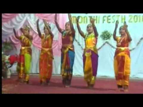 Monthi-fest 2010 - Bharatanatyam To A Christian Devotional Song By Our Talents video