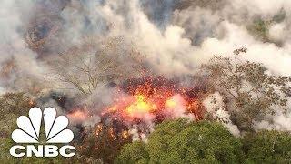 Hawaii's Volcano Erupts, Spews Ash 30,000 Feet | CNBC