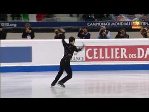Patrick Chan   World  Figure Skating Championship 2010 Torino   SP