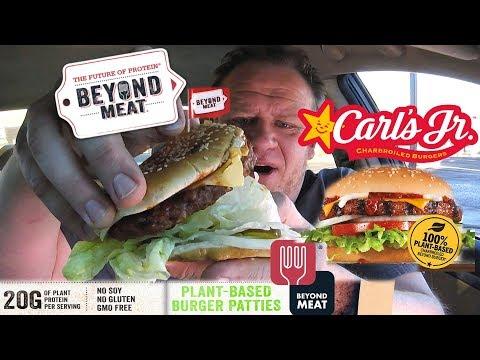 Carl's Jr. ☆BEYOND MEAT® Vegetarian Burger☆ Food Review!!!