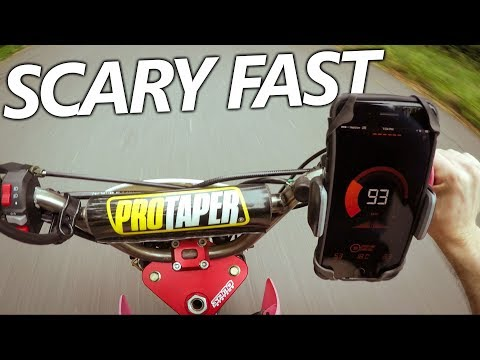 Street Legal Crf50 125cc Pit Bike Engine TOP SPEED TEST