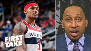 Bradley Beal can't recruit for Wizards because the 'team stinks' - Stephen A. | First Take