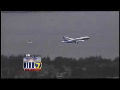 Boeing 787 Dreamliner - First flight video