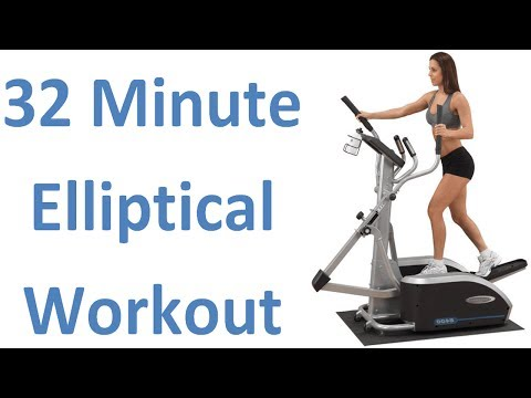 32 Min. Elliptical Workout. Burns 747 Calories. Serious Weight Loss