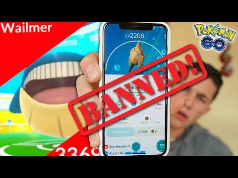 POKÉMON GO BANNED ME?! + NEW GENERATION 3 REGIONAL & RAID BOSS!