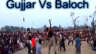 Shooting Volleyball Show Match 2016 - Gujjar Club Vs Baloch Club