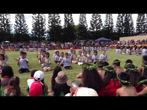 Mililani Mauka Elementary School May Day 2013