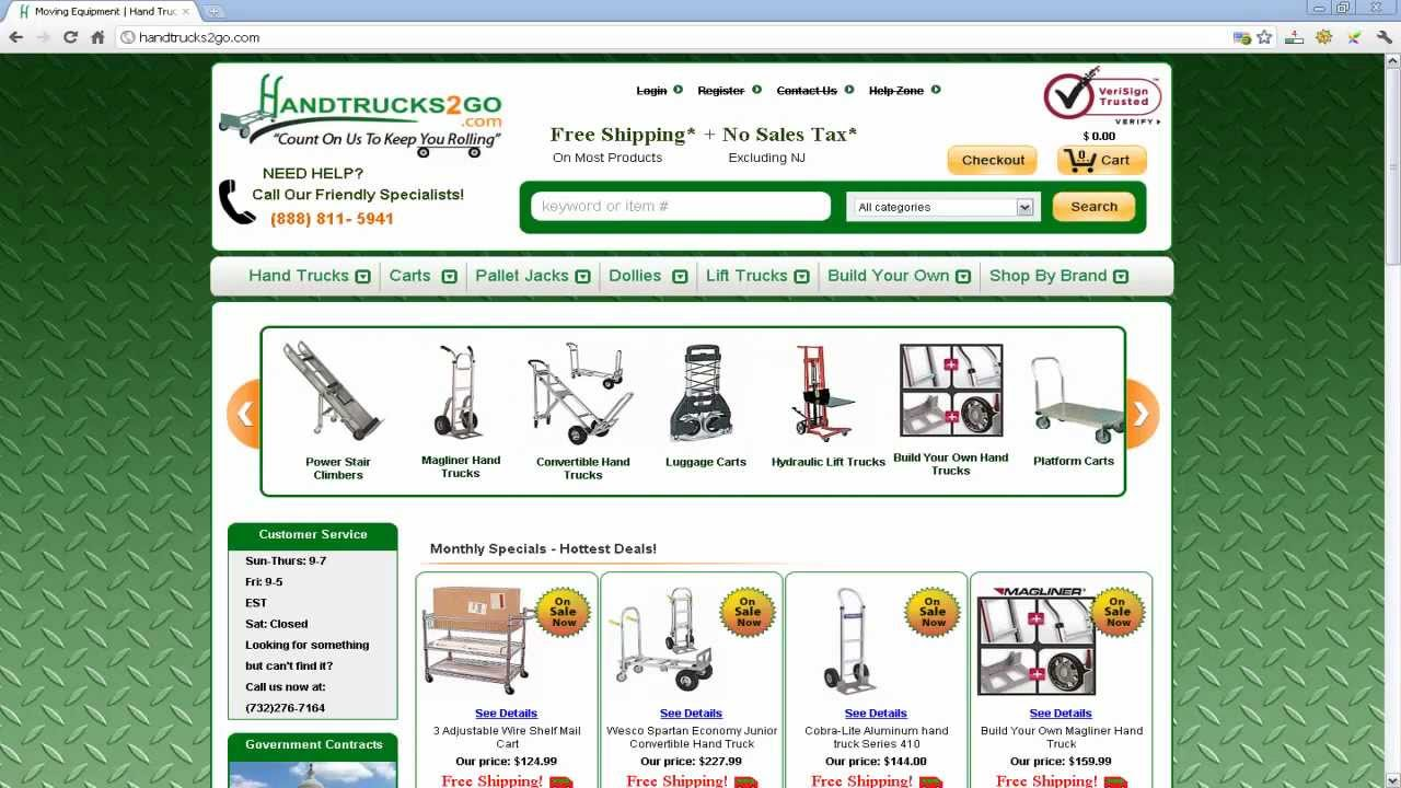 build your own hand truck online youtube. Black Bedroom Furniture Sets. Home Design Ideas