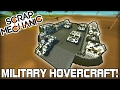 Special Forces Military Hovercraft & Humvees! (Scrap Mechanic #122)