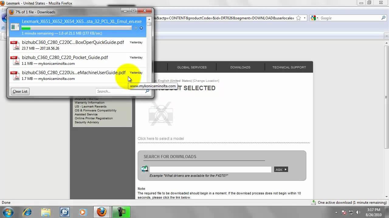 Lexmark E210 Driver Windows 8 Download