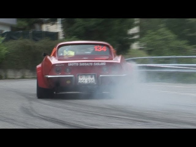Classic Cars Rally del Ticino 2013, Ford Escort Mk 1 Mk2, Corvette Stingray C3, Peugeot 306 Maxi