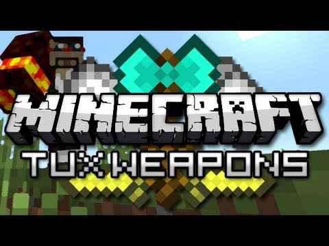 Minecraft: TuxWeapons Mod Showcase