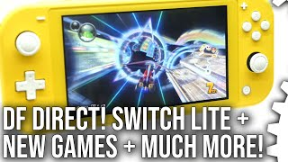 DF Direct! Switch Lite Impressions + Zelda: Link's Awakening BIG Improvements + More Switch Games!