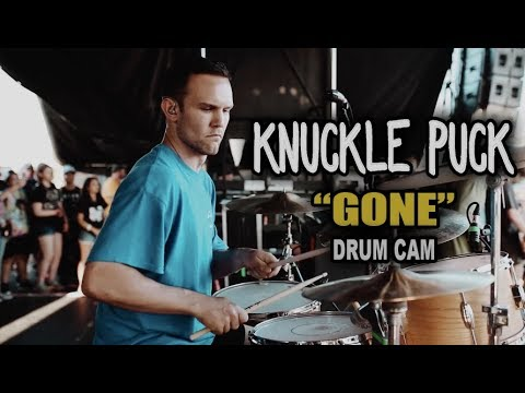 Knuckle Puck | Gone | Drum Cam (LIVE) thumbnail