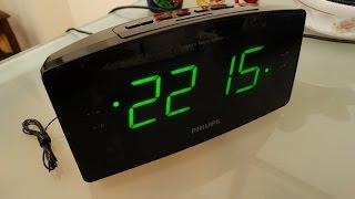 Philips Clock Radio AJ3400 12 introduction