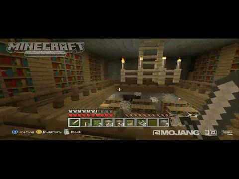 Minecraft Xbox 360 - 1.8.2 Trailer Estructuras, NPC Village y Stronghold Analisis