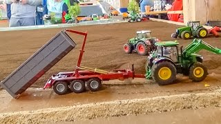 RC Tractor Action! Amazing miniature farming in 1:32 scale!