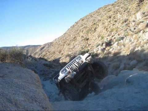 Toughest Obstacle on Pinyon Mountain Road: Anza-Borrego Desert State Park