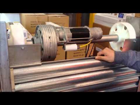 Instalaci n completa motor puerta enrollable youtube - Motores de persianas precios ...