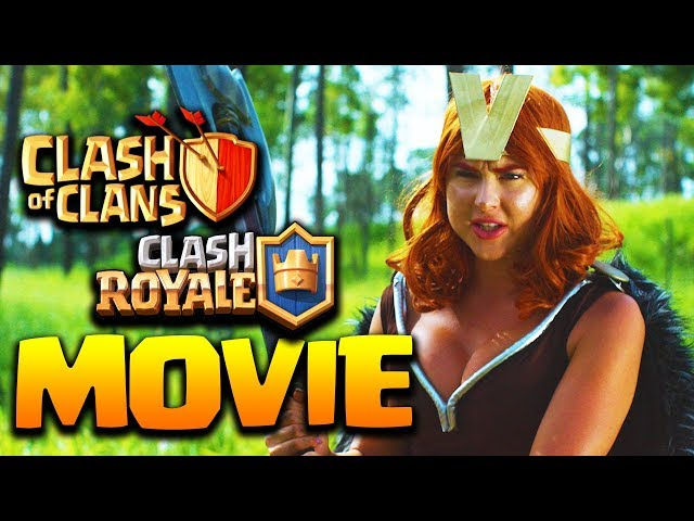 Clash of Clans, Clash Royale Movie HD 2018 - KNIGHT vs VALKYRIE - Epic Clash Battles