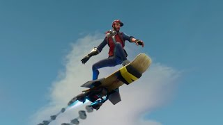Fortnite Hoverboard Trailer