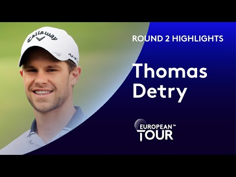 Thomas Detry makes 6 birdies and an eagle | Round 2 | 2020 AFRASIA BANK Mauritius Open