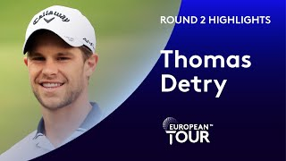 Thomas Detry makes 7 birdies and an eagle | Round 2 | 2020 AFRASIA BANK Mauritius Open