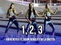 1, 2, 3   Sofía Reyes Ft. Jason Derulo, De La Ghetto | KF Dance | Coreografía Zumba®