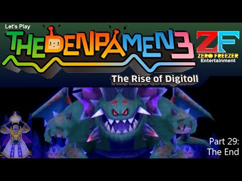 The Denpa Men 3 (3DS) Part 29: The End [HD]