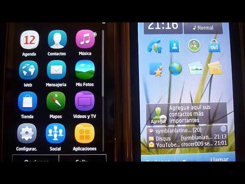 COMPARACIÓN: Symbian^3 (PR 1.2) vs Symbian Anna (PR 2.0)