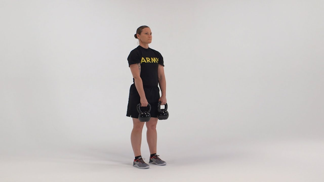 The Straight Leg Dead Lift is a free-weight exercise performed throughout a Soldier's career to improve lower body muscular strength and endurance. It is a modification of the deadlift that further challenges the muscles in the lower back, hips and legs.   Here is a breakdown of the exercise as it would be conducted by an individual Soldier using a straight bar and dumbbells. #ArmyFit