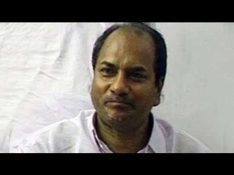 24 Hours With AK Antony (Aired: January 1998)
