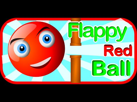 Flappy Red Ball - My new Android Game - Java Libgdx