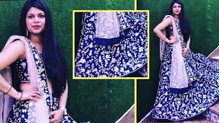 साधारण कपड़े से पार्टी ड्रेस के लिए कपड़ा कैसे बनाये, घर पर बनाने का आसान तरीका ( हिन्दी में )