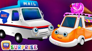 Surprise Eggs Toys - UTILITY Vehicles for Kids | Ice Cream Van & more | ChuChuTV Egg Surprise
