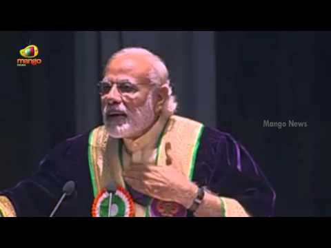 PM Modi Address the Students at 5th Convocation of Shri Mata Vaishno Devi University in J&K