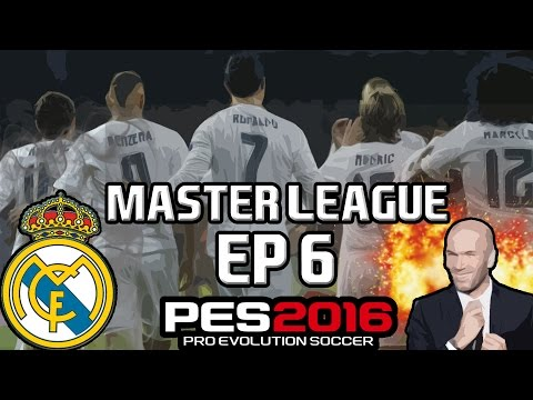 PES 2016 | MASTER LEAGUE W/ REAL MADRID | EP 6 | TENSE MADRID DERBY!