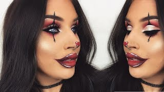Glamorous Halloween Clown | Creepy Makeup Tutorial