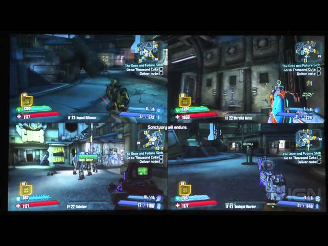 4 Player Split Screen Gameplay from The Handsome Collection - PAX South 2015