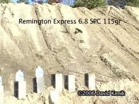 5.56 Vs 6.8SPC ammo test