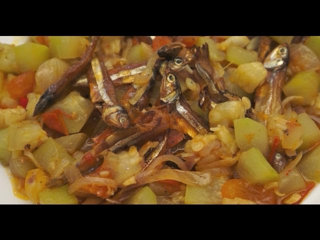 Ginisang Upo Dilis Recipe - Tagalog Pinoy Filipino Dried Fish