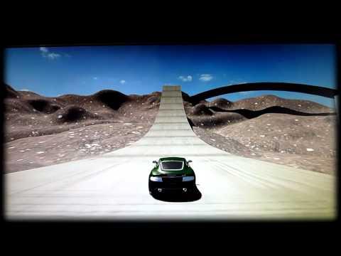 Jeu Vidéo 3d De Voiture aston Car Gratuit à Télécharger (blender Game Engine) video