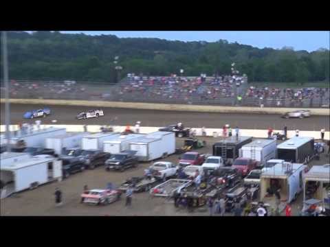 Federated Auto Parts Raceway 5-18-13 Late Model Heat