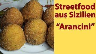 "D-037 Streetfood aus Sizilien ""Arancini"""