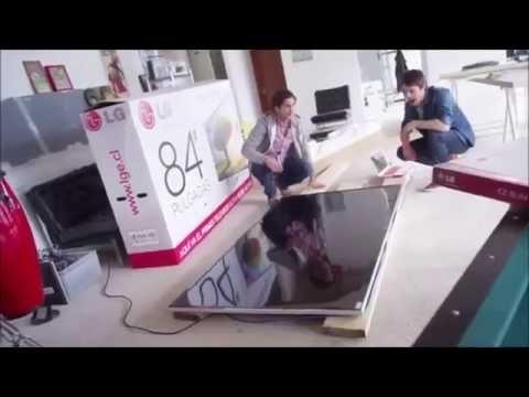 LG Ultra HD TV / 4K Werbespot - Meteoriteinschlag Prank Verarsche Reality Fake