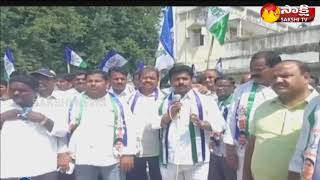 YSRCP MLA Sunil Kumar participates in sangabava yatra in puthalapattu
