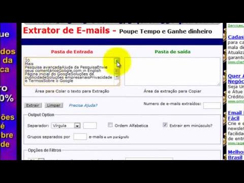 Vídeo 1  Listas de E-mails gratuitas