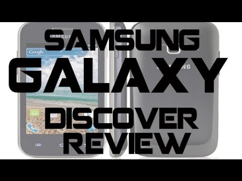 Samsung Galaxy Discover Review